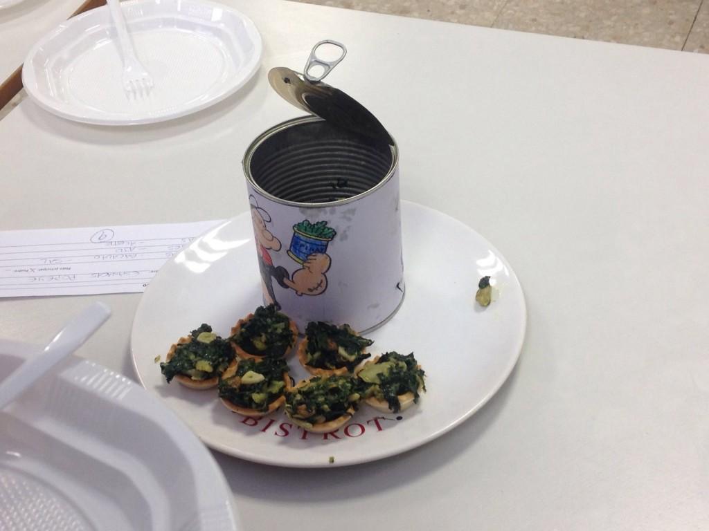 Premio categoría 1º plato - concurso gastronómico AMPA Colegio Ábaco